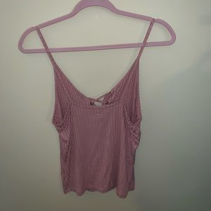 American Eagle Outfitters Tops - Lace up tank from AE